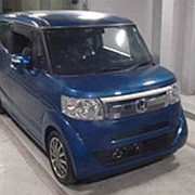 Хэтчбек турбо HONDA N BOX SLASH кузов JF1 модификация X Turbo Package гв 2015 пробег 31 тыс км цвет синий фото