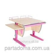 Парта-трансформер СУТ.14-02 клён/розовый фото
