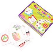 """Ассоциации малышам """"Для самых маленьких"""" Рыжий кот, 16 карточек, ИН-6780 фото"""
