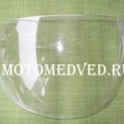 Стекло шлема прозрачное, открытый шлем фото