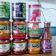 Продажа продуктов питания (консервация) фото