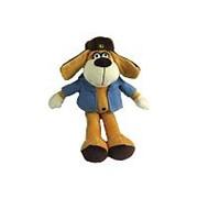 TEDDY Собака в голубом пиджаке, 15см (YSL18775) фото