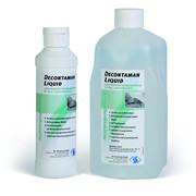 Противомикробный очищающий раствор для обработки кожи и слизистой оболочки Деконтаман Ликуид фото
