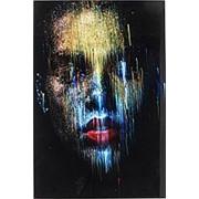 Картина Face, коллекция Лицо 80х120х4см. арт.60322 KARE фото