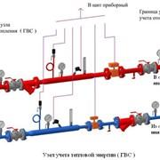 Проектирование узлов учета тепловой энергии фото