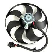 Вентилятор охлаждения двиг. Skoda Octavia, Fabia / Seat Leon, Ibiza / VW Bora, Golf IV - D8W007TT / FE14742 фото