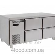 Стол холодильный с выдвижными шкафчиками Asber ETP-6-150-04 фото