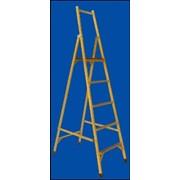 Лестница алюминиевая двухсекционная Луч ССС-3,5 фото