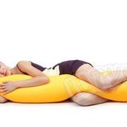 Антистрессовая подушка-валик (больш.) 150*23 фото