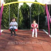Качели Модель Л04-К для детей до 3 лет фото