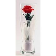 Роза в бокале фото