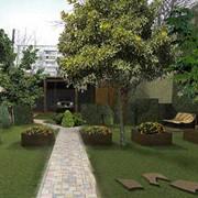 Ландшафтный дизайн сада, Дизайн и озеленение сада Харьков фото
