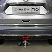 Накладка на заднюю дверь Nissan X-Trail 2018-наст.время (лист шлиф.) фото