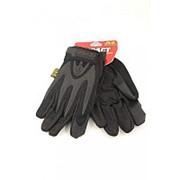 Перчатки Mechanix Wear IMPACT, черные фото