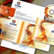 Дизайн полиграфии рекламной фото