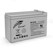 Аккумуляторная батарея AGM RITAR RT1275, Gray Case, 12V 7.5Ah ( 151 х 65 х 94 (100) ) Q10 фото