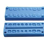Форма силиконовая для изготовления оклюзионной поверхности боковых зубов фото