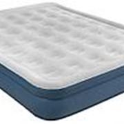 Кровать надувная двуспальная High raised air bed queen, 203х157х38 см с насосом JL027278NG фото