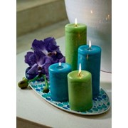 Свечи декоративные, вазы, подсвечники и статуэтки фарфоровые, предметы декора большой выбор, эксклюзивные предметы декора фото
