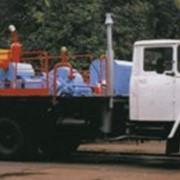 Установка насосная передвижная УНБ1-160х40 Mobile pumping facility UNB1-160x40 фото