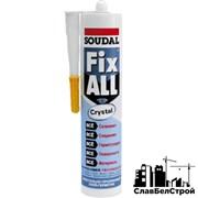 Клей-герметик Soudal Fix All Crystal 290 мл фото