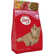 Сухой корм для котов с телятиной 400г - МЯУ фото