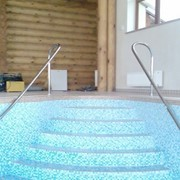 Поручни для бассейна фото