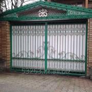 Ворота металлические А00924 фото