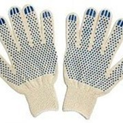 Перчатки Трикотажные С ПВХ 10 Кл., Арт.114 фото