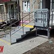 Вертикальная подъемная платформа для инвалидов в Омске фото