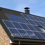 Сетевая солнечная станция 3 кВт фото