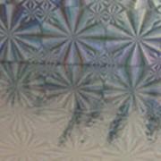 Пленка самоклеющаяся 8м.*0,45cм. L8012 Голография серебро фото