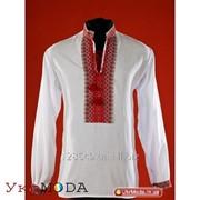 Вышитая сорочка мужская (chs-02-08) фото