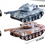 Танковый бой Huangbo Toys Battle Tank на р/у на аккум. HB-DZ04 фото