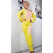 Спортивный костюм DNKY желтый фото