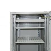 Шкаф напольный с комплектацией IPCOM С-18U-06-06-ДП-ПГ-1-7035 фото