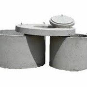 Кольца канализации,кольцо бетонное КС ЖБИ,кольца колодца фото