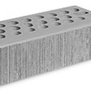 Кирпич керамический облицовочный (лицевой) пустотелый Серебро Бархат 0,7 NF фото