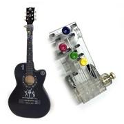 Учебный инструмент для настройки гитары фото