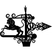 Флюгер Зодиак Лев фото