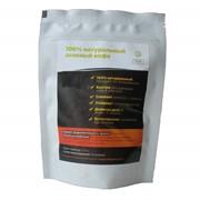 Зеленый кофе 200 грамм (Упаковка белый дой-пак). фото
