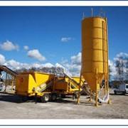 Мобильный бетонный завод M55/8-2200, 2011 года, производство Швеция Заводы бетонные мобильные в Украине фото