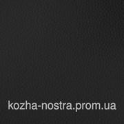 Черный кожзам на поролоне для сидений.Ширина 140 см. фото