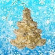 Новогоднее украшение Артикул: ЯП-2014-95 елка золотистая фото