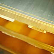 Латунный лист ЛС59 40х600х1500 мм фото