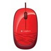 Мышь Logitech M105 Corded Optical Mouse Red фото