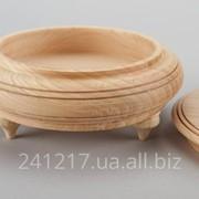 Деревянная шкатулка-заготовка с ножками №985205311 фото