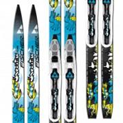 Беговые лыжи Fischer Snowstar Blue NIS/MTD фото