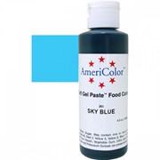 Гелевый краситель AmeriColor 128г. №203 Небесно Голубой Sky Blue фото