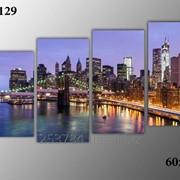 Картина модульная М-129, размер 60х120 фото